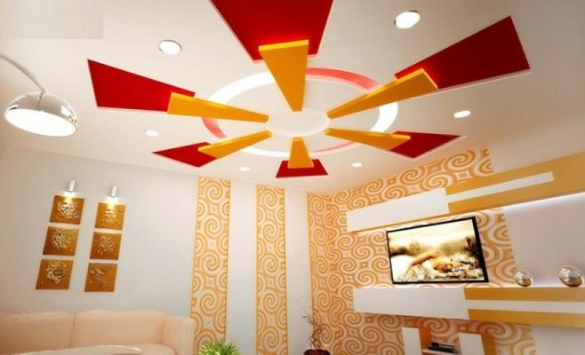 35 Latest Plaster Of Paris Designs, Pop False Ceiling Design 2017 for plaster of paris ceiling designs for living room for Really encourage