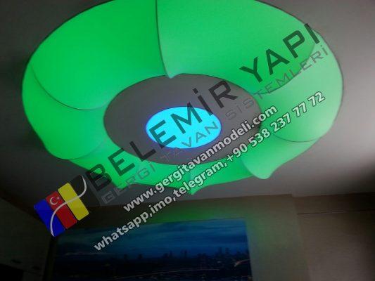 stretch ceiling, elasticni plafoni, spanndecken, barrisol, lighting, 3D Decoration, shtrirje tavan,Натяжной потолок, England
