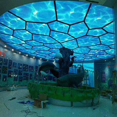 3d fuar dekorasyonu, fuar aydınlatması, fuar gergi tavan, fuar standı, fuar stretch ceiling, fuar barrisol, lighting