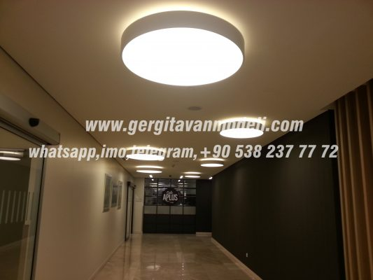 stretch ceiling, elasticni plafoni, spanndecken, barrisol, lighting, 3D Decoration, shtrirje tavan,Натяжной потолок, Hall lighting ALBANİA