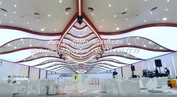 Wedding Hall 3d Decorations - wedding hall designs, 3d barrisol
