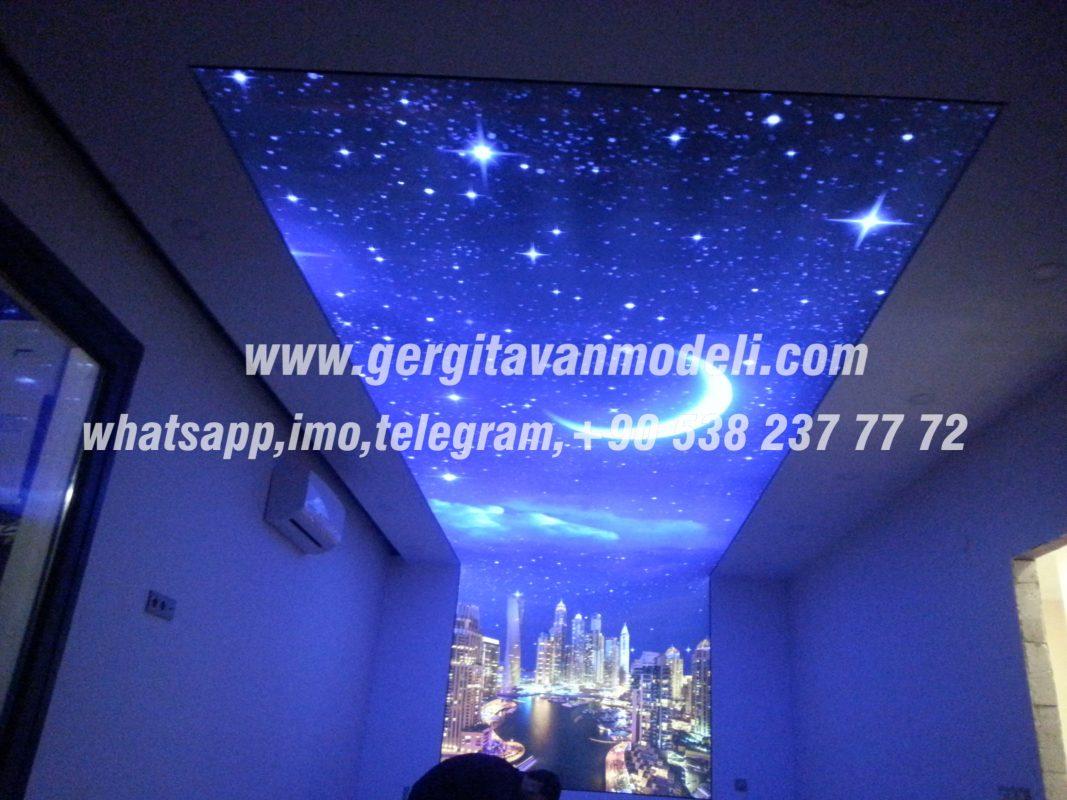 3d натяжные потолки фото