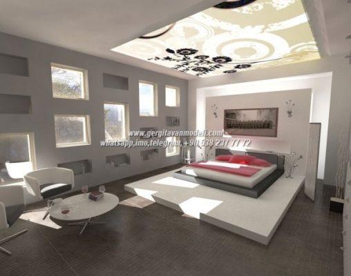 Stretch Ceiling Qatar Gergi Tavan Modeli