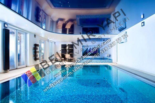 havuz tavanları ayna modelleri, lake gergi tavan havuz modelleri, barrisol lake havuz, ayna gergi tavan, ayna barisol, ayna aydınlatma