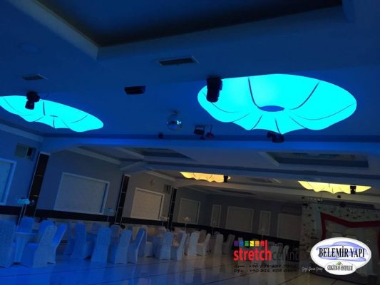 Akwa Ibom, stretch ceiling, barrisol, Lighting, decoration, design, art, interiors, 3d decor