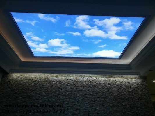 Villa Lighting, stretch ceiling, barrisol, elasticni plafoni, spanndecken