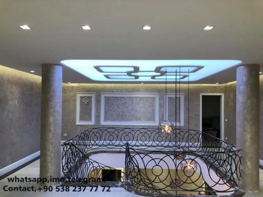 Modern Villa Decoration, Villa Design, Villa Lighting