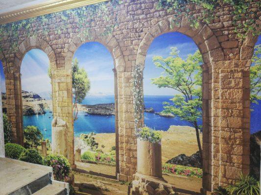 Duvar Kağıdı, 3D wallpaper design, 3d Duvar Kağıdı, Deniz Manzara